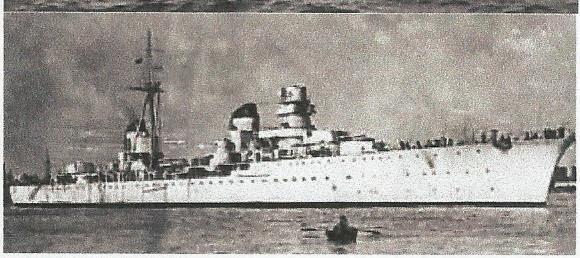 crucero italiano eugenio di savoia