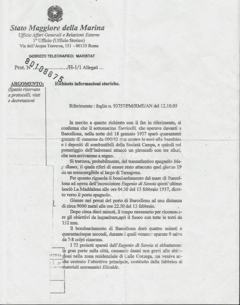 documento 1º marina italiana