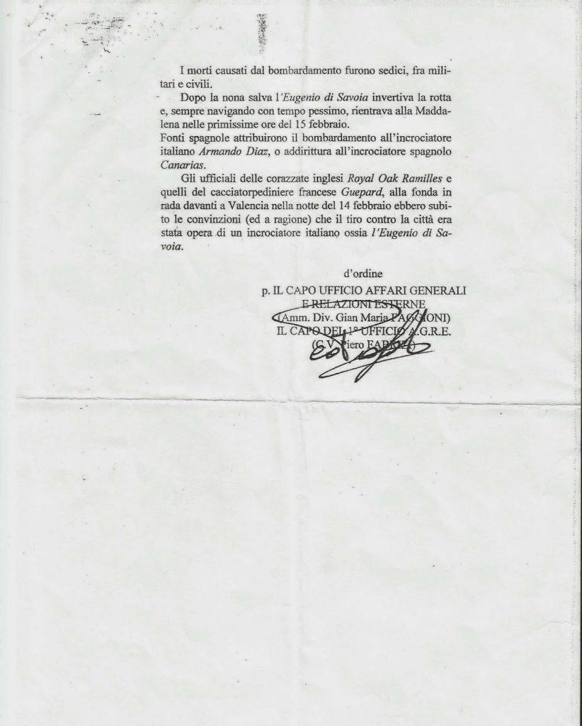 documento nº 2 de marina italiana
