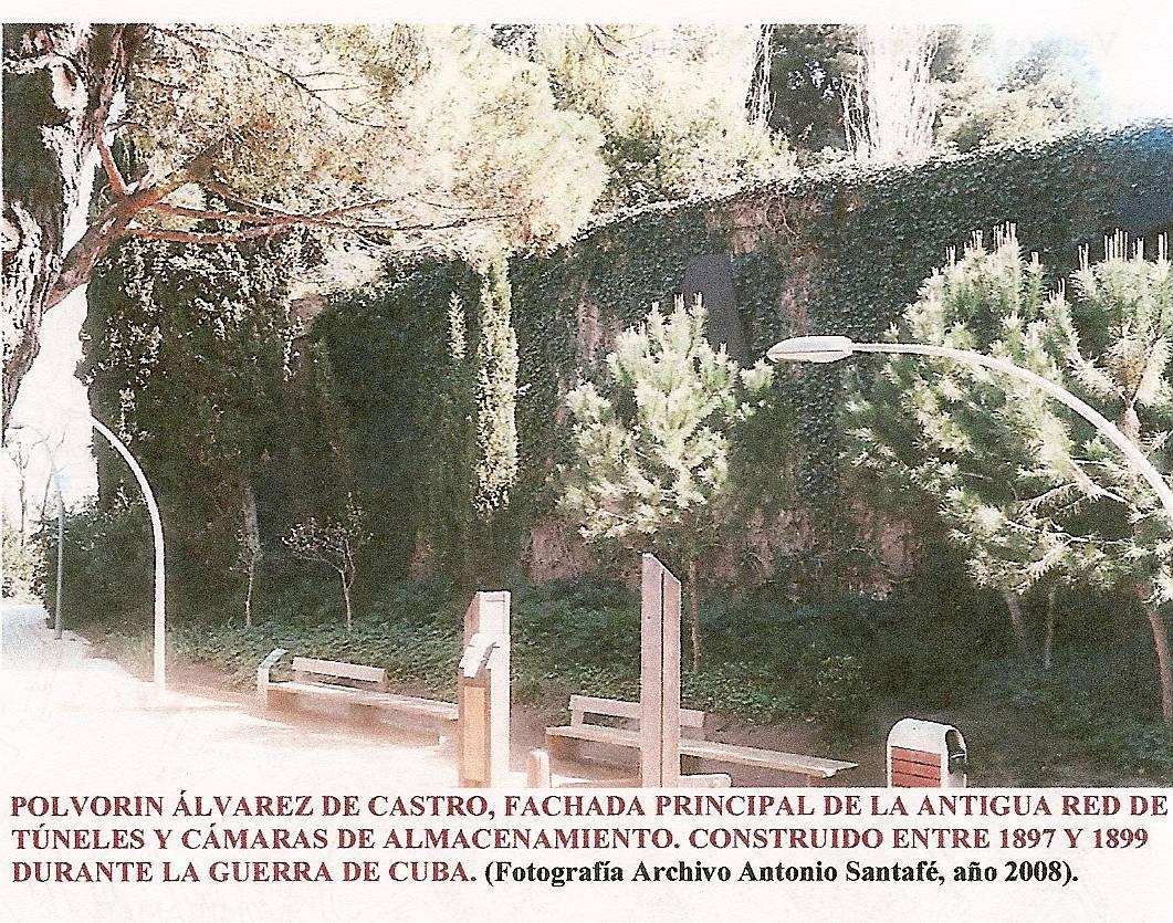 El refugio del paseo de montj ic y los t neles del for Alvarez de castro