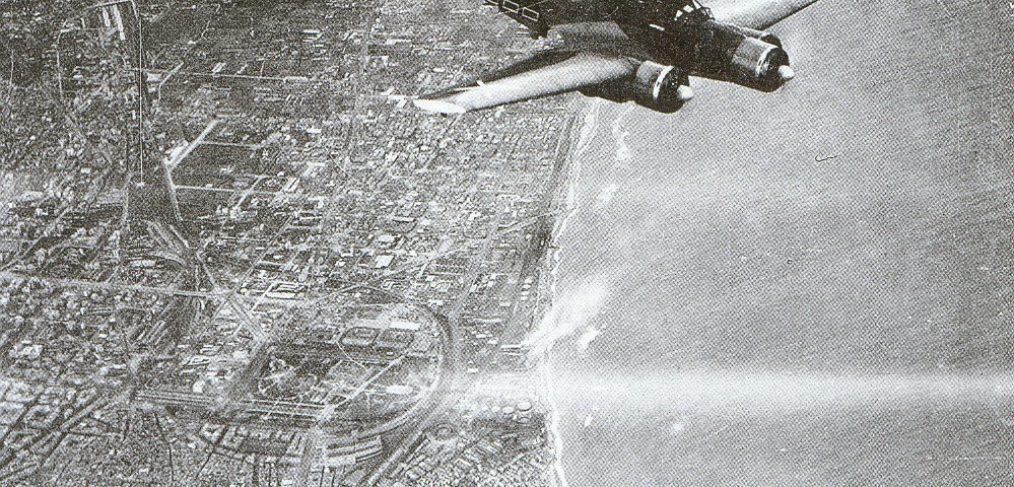 caza italiano bombardeo barcelona