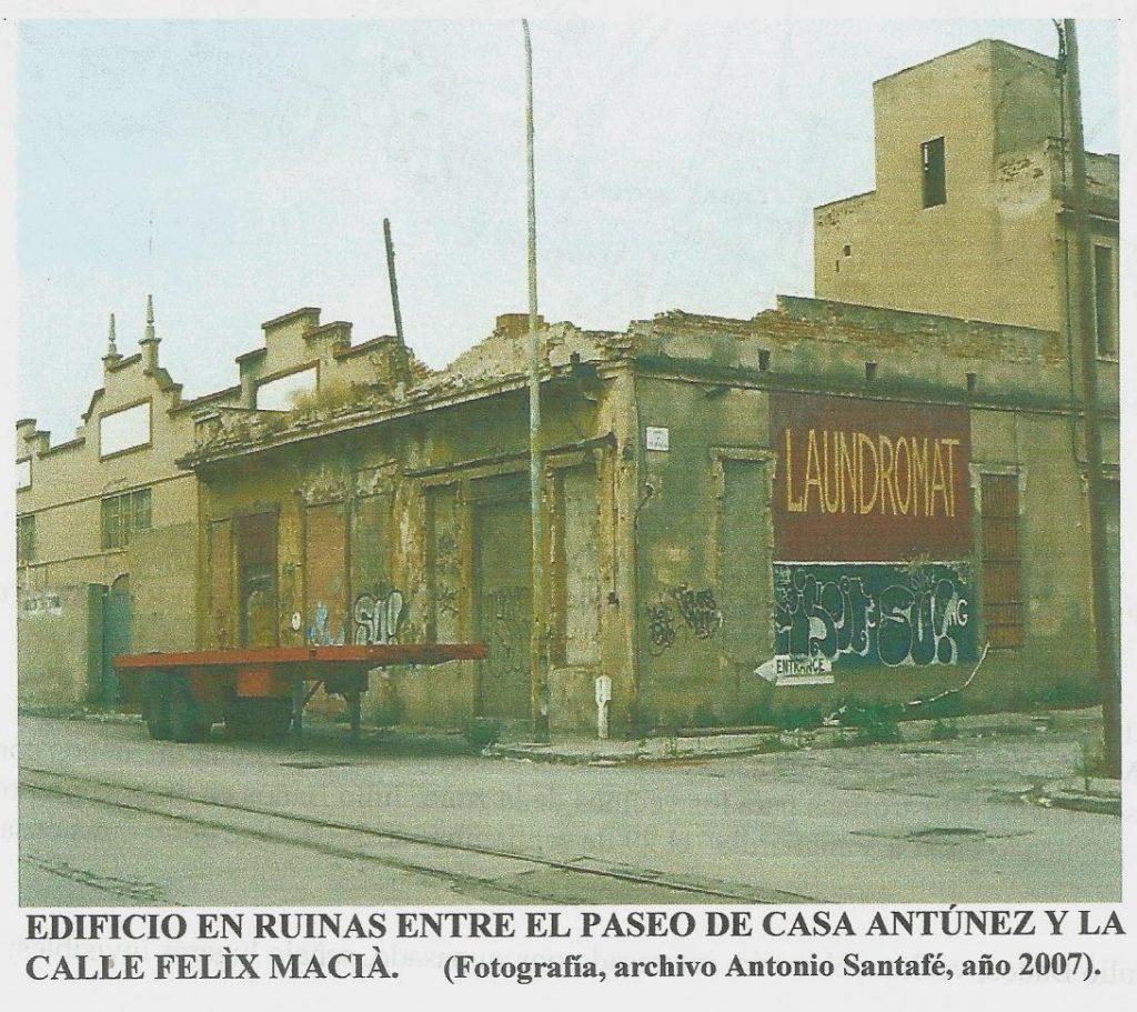 foto barriada casa antunez barcelona