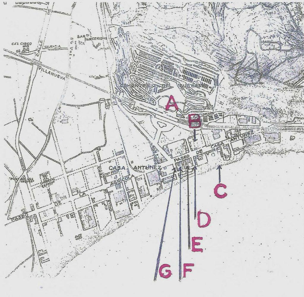 mapa casa antúnez barcelona