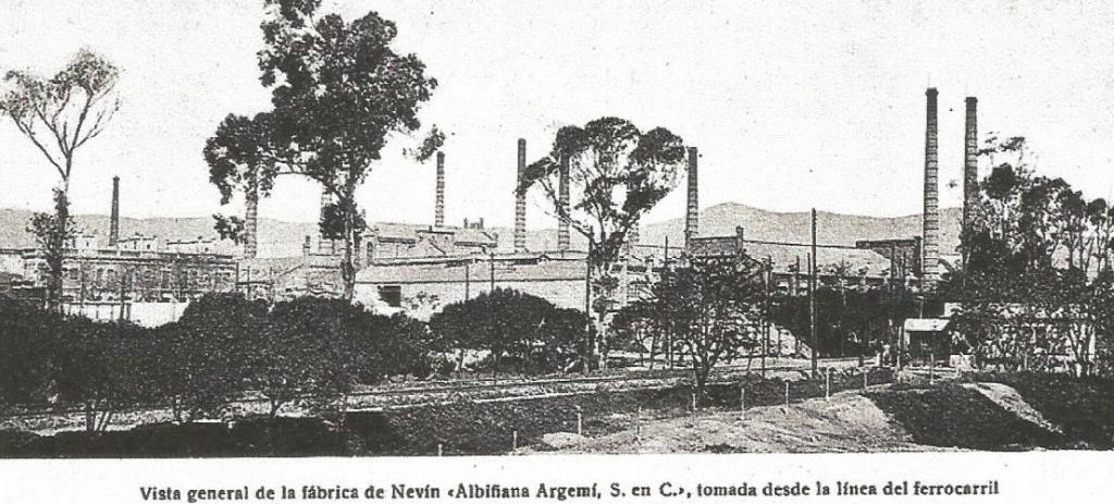 fabrica de producto químicos de s.a nevin