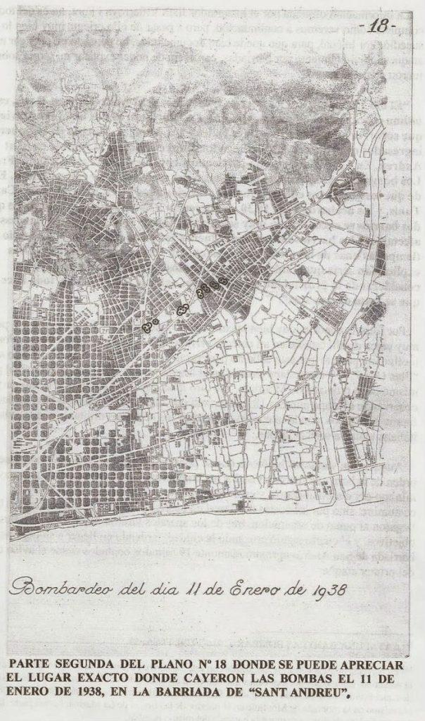 plano 18 bombardeo de barcelona 2